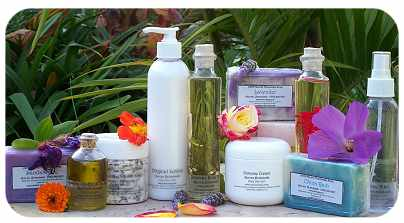 Natural handmade skin care from Lotion Lady