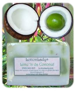 Lime N-Da Coconut Handmade Soap!